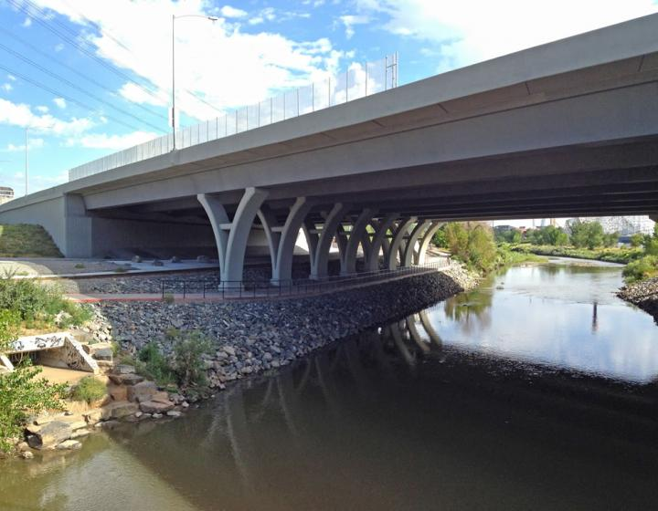 I-25 Bronco Arch Bridge—CDOT Region 1 Interstate Highway/Interchange/Bridge
